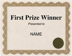 1st place certificate template free free word certificate templates wording geographics - First Prize Winner Certificate Template