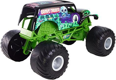 grave digger monster truck toys wheels monster jam giant grave digger truck buy