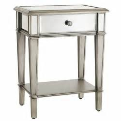 Hayworth Mirrored Dresser Silver by Mirrored Nightstand Home Is Where The Heart Is Pinterest