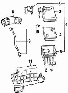 Ford Aerostar Mass Air Flow Sensor  Engine  Liter