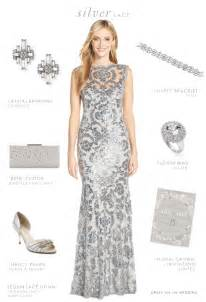 neiman dresses for weddings silver lace dress silver for a wedding