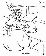 Coloring Gingerbread Oven Printable Sheet Adult sketch template