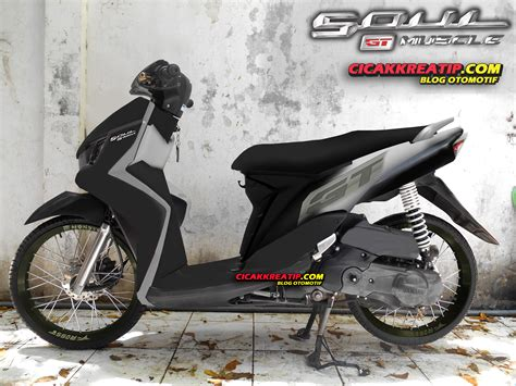 Modifikasi Motor Soul Gt Velg 17 by Modifikasi Yamaha Mio Soul Gt Velg 17 Modifikasi Motor