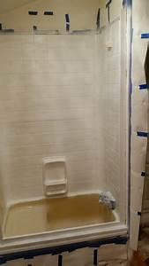 Rv Bathroom Remodel - The Shower