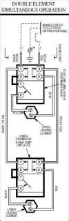 Testing Water Heater Wiring Diagram by Water Heater Thermostat Testing And Replacement Plumbing