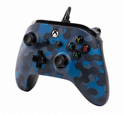 Camo Wired Controller Stealth Xbox Powera Pc