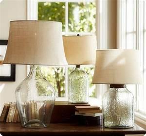 Diy, Bottle, Lamp