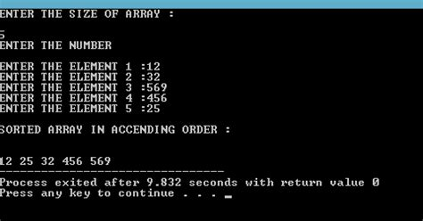 write  program  insertion sort  dynamic array