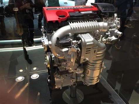Civic Type R Engine by Honda Civic Type R 2016 Engine Honda Tech