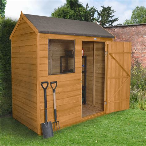 reverse apex overlap wooden shed  assembly service