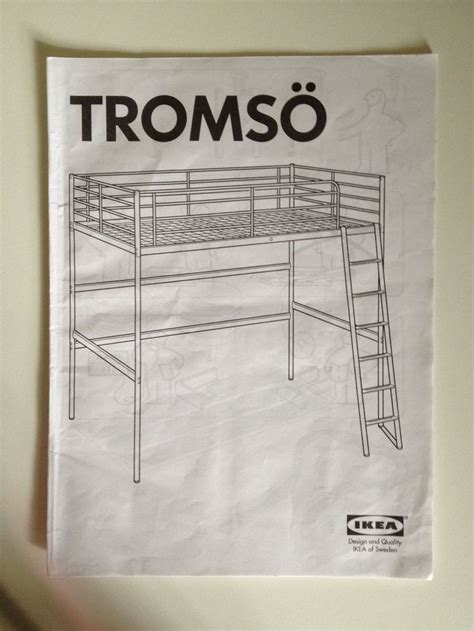 ikea tromso loft bed with desk and shelf teen room bunk