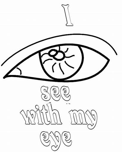 Eyes Coloring Pages Andy Biersack Eye Directly