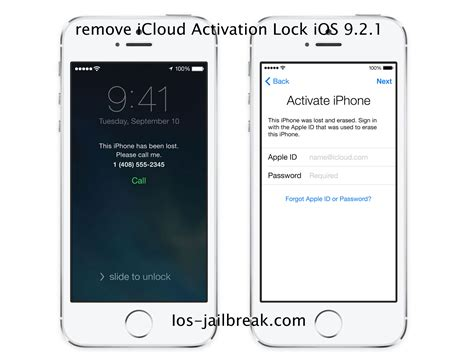 remove iphone from icloud how to remove icloud activation lock ios 9 2 1 version