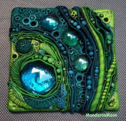 doll treppen neptunes garden mosaic tile polymer clay and glass
