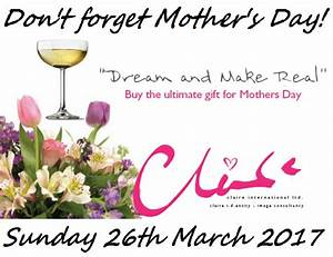 MOTHER'S DAY GIFT VOUCHER - ClaireID