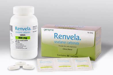 Renvela 800mg - Sevelamer Carbonate Tablets - Maxwell ...