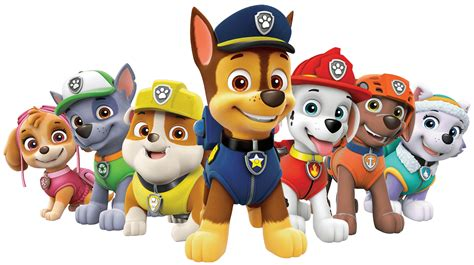 paw patrol paw patrol all characters png