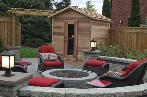 Backyard Sauna by Electric