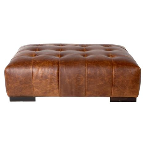 rectangular ottoman coffee table cisco brothers arden modern classic tufted terracotta