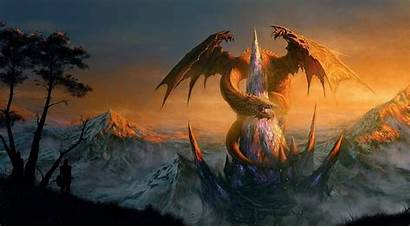 Epic Fantasy Wallpapers Dragon Cave