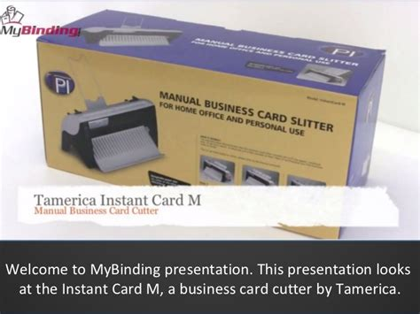 Tamerica Instant Card M Business Card Cutter Demo What Is Business Attire Plan Sample And Format For Hotel Samples Proposal Conclusion Technology Interview Female Bookstore Heels Or Flats