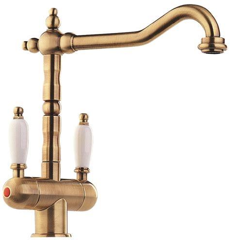 robinet cuisine cuivre robinet mélangeur en bronze pour un style rétro vintage