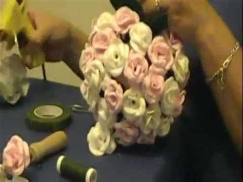 como hacer  topiario  rosas en goma eva youtube