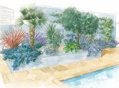 piscine terrasse en bois amenagement paysager avec de With porche d entree maison 16 amenagement autour piscine with mediterraneen jardin
