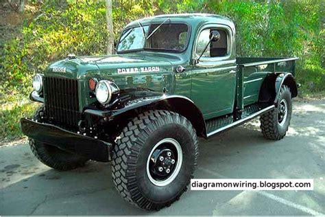 Dodge D Series D100 600 and Power Wagon W100 500 Wiring