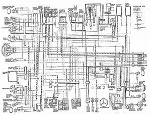 Kawasaki Kz1000 Wiring Diagram Of The Electrical System  59286