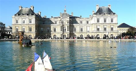 Sailboats Jardin Du Luxembourg by Now And Then The Luxembourg Gardens