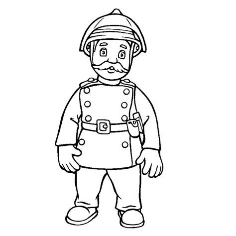 Brandweerman Sam Kleurplaat Titan by Sam De Brandweerman Kleurplaten Kleurplatenpagina Nl
