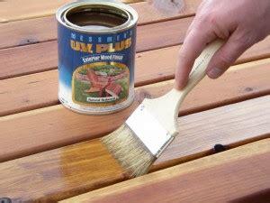 clean  stain  wood deck
