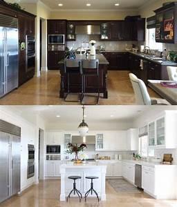 Küchenfronten Streichen Vorher Nachher : die alte k che neuen schein geben und aufhellen diy k che k chen fronten und alte k che ~ Watch28wear.com Haus und Dekorationen