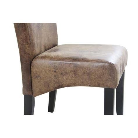 lot chaise salle a manger cuba lot de 2 chaises de salle à manger style vintage