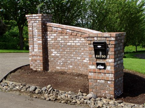 brick wall with gate brick laminate picture brick entry gate