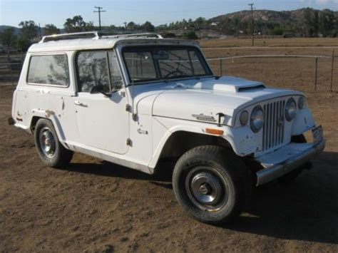 jeep commando hurst purchase used 1971 hurst jeepster commando in san diego