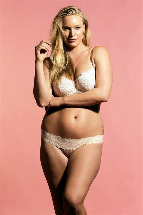the trick plus size models use to look even bigger