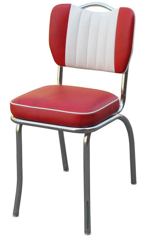 50s home decor diner chair 4260t handle back chair with contrasting