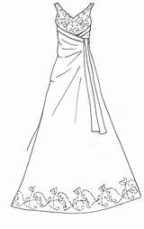 Coloring Pages Printable Line Barbie Doll Sewing Dresses Clothes Deviantart Patterns Getcolorings Designs Sketch Prom Malvorlagen Template Drawing sketch template