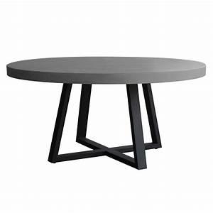 Table Ronde Aluminium : table ronde mahuru 140 cm d couvrez nos tables rondes mahuru 140 cm rdv d co ~ Teatrodelosmanantiales.com Idées de Décoration