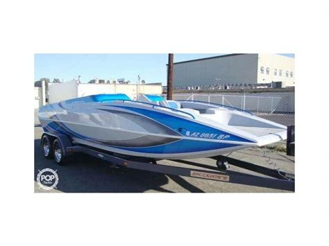 22 Deck Boat by Shockwave 22 Deck Boat In Florida Open Boats Used 15548