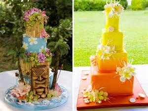 hawaiian wedding cake hawaiian themed wedding cake images