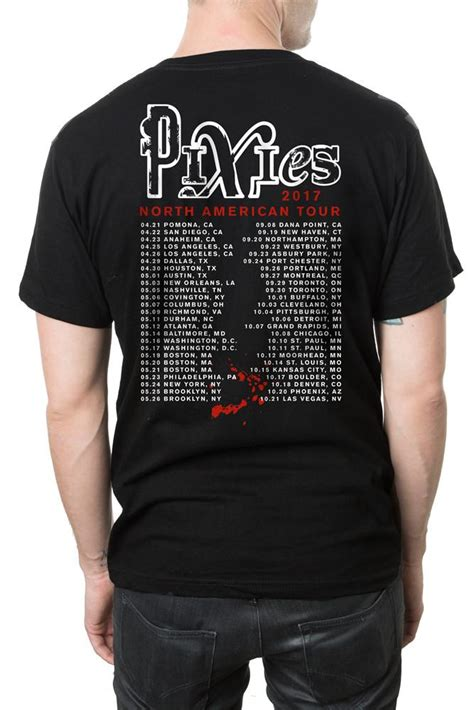 pixies punch tour t shirt the pixies official store