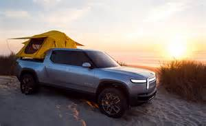 Electric Truck by Rivian R1t All Electric Truck Unveiled With