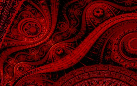 Black And Red Abstract Wallpaper on WallpaperGetcom