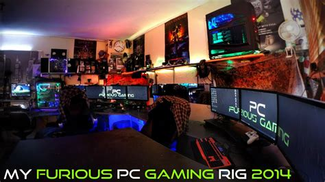 My Furious Pc Gaming Rig 2014 Ultimate Gamer Setup Youtube