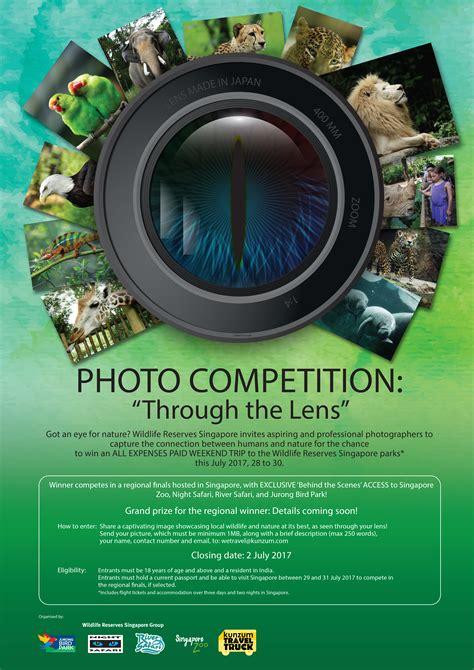 photo contest win  expense paid trip  singapore