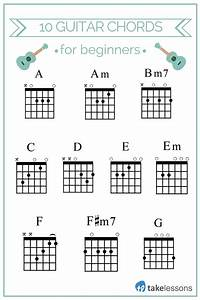 10 Easy Guitar Chords For Beginners  U2013 Takelessons Blog