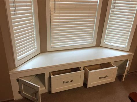 Diy Built-in Window Seat With Drawer And Cabinet Storage Luxury Home Decor Magazines Decorative Accessories For The Builders Corpus Christi Lake Ideas Depot Warehouse Salary Homes Sale London Ky Dixie Largo Fl Rent